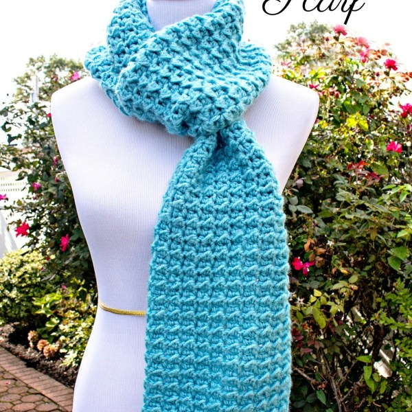 #12WeeksChristmasCAL – Dreamy Scarf