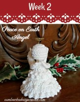 Peace on Earth Angel on Pattern-Paradise.com