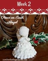 Peace on Earth Angel on Pattern-Paradise.com