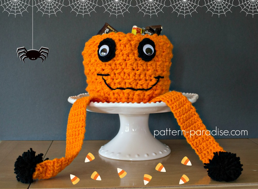 Free Crochet Pattern Jack O Pumpkin Candy Bowl Giveaway