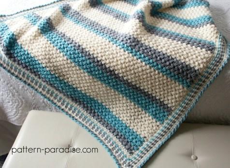 Free Crochet Pattern Pillow Soft Throw Blanket Pattern Paradise