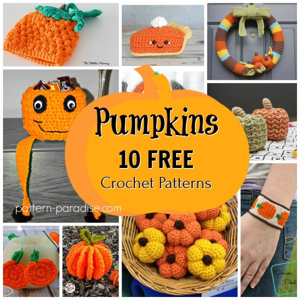 Crochet Finds – Let's Visit the Pumpkin Patch