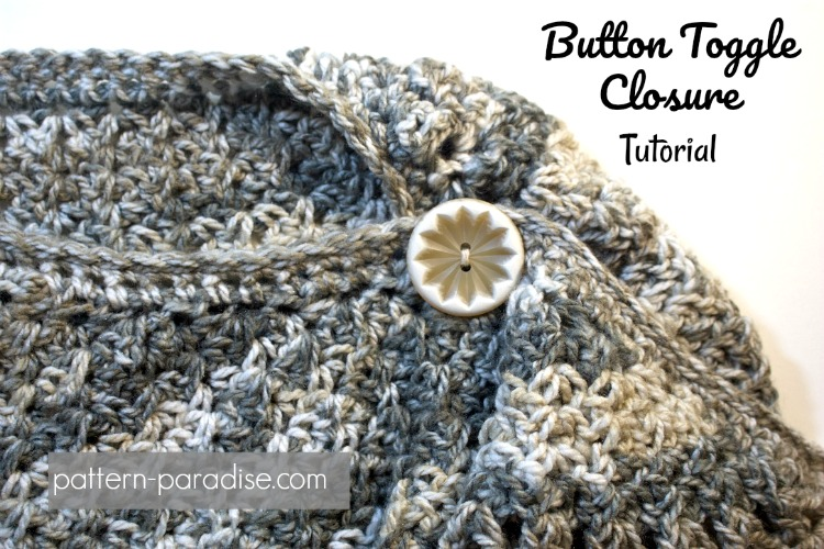 Tutorial: Button Toggle To Close a Shawl