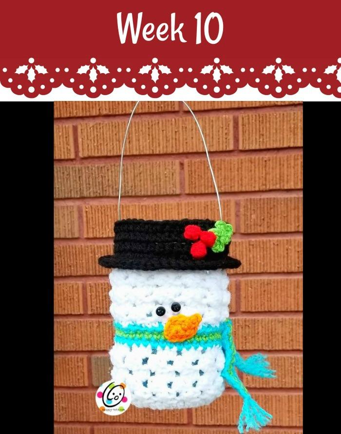 #12WeeksChristmasCAL – Frosty Luminary