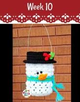 #12WeeksChristmasCAL Frosty Luminary on Pattern-Paradise.com