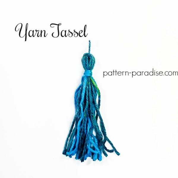Tutorial: Yarn Tassel