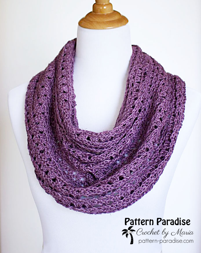 Free Crochet Pattern: Eve's Scarf