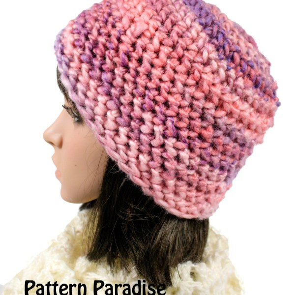 Free Crochet Pattern: Evermore Hat and Fingerless Mittens