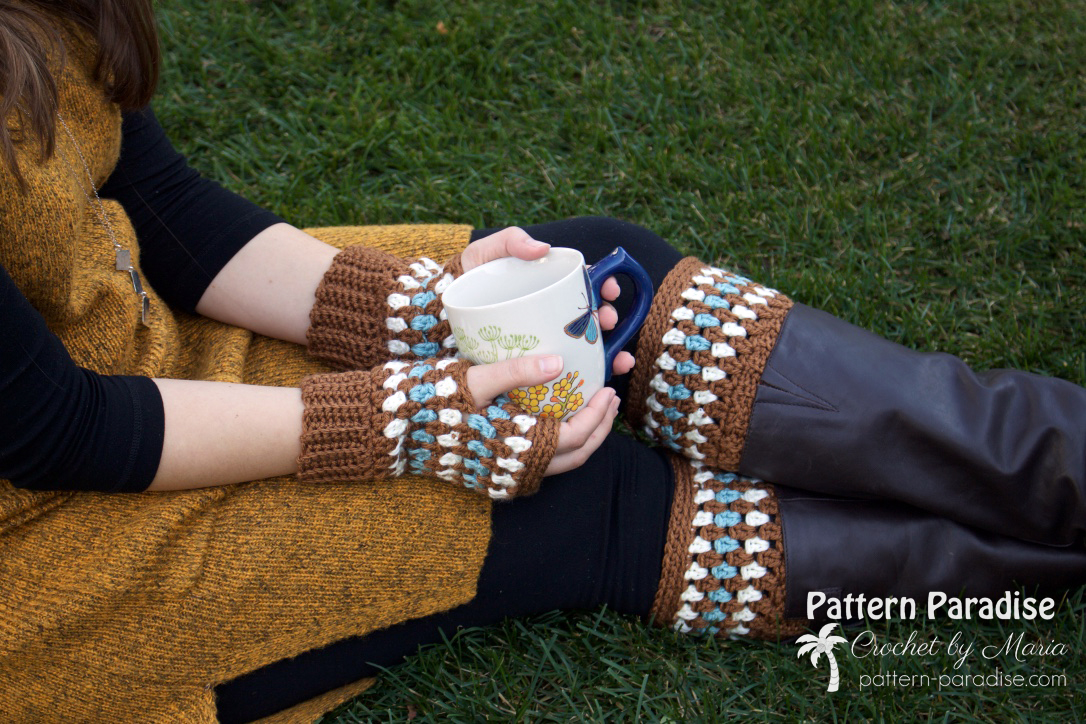 Fingerless Gloves \ Boot Cuffs
