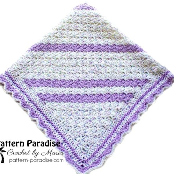 Free Crochet Pattern: Confetti C2C Baby Blanket
