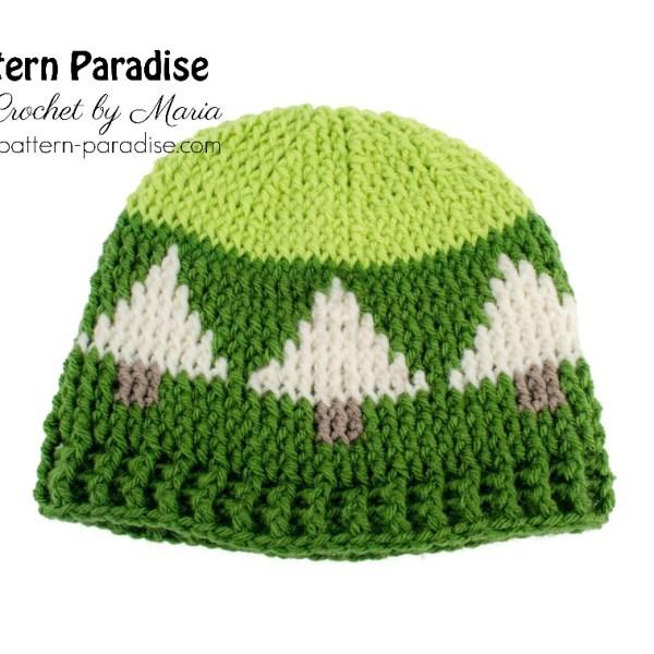 Free Crochet Pattern: Christmas Tree Hat