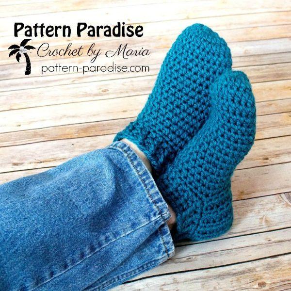 Free Crochet Pattern: Snappy Slippers