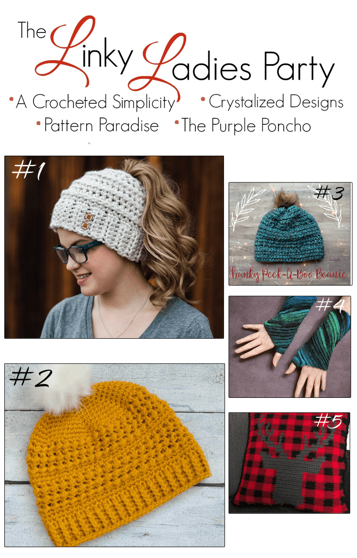 43e3e372d13e80 Beehive Ribbed Slouchy Hat Crochet Pattern Free