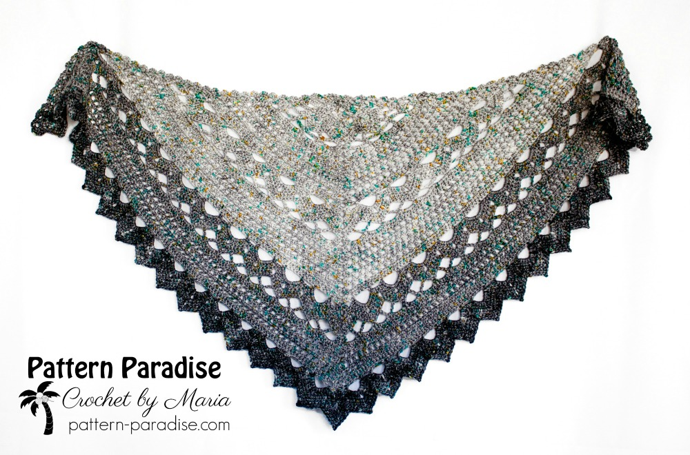Join Me For The Spring Showers Shawl Crochet Along Cal Pattern