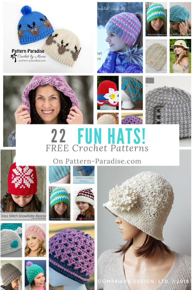 Crochet Finds Free Crochet Hat Patterns