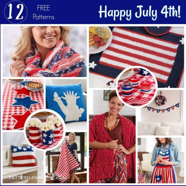 Crochet Finds – Happy July 4th!
