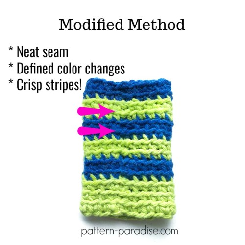 Perfect Stripes for Amigurumi [video] | PlanetJune by June Gilbank ... | 500x500