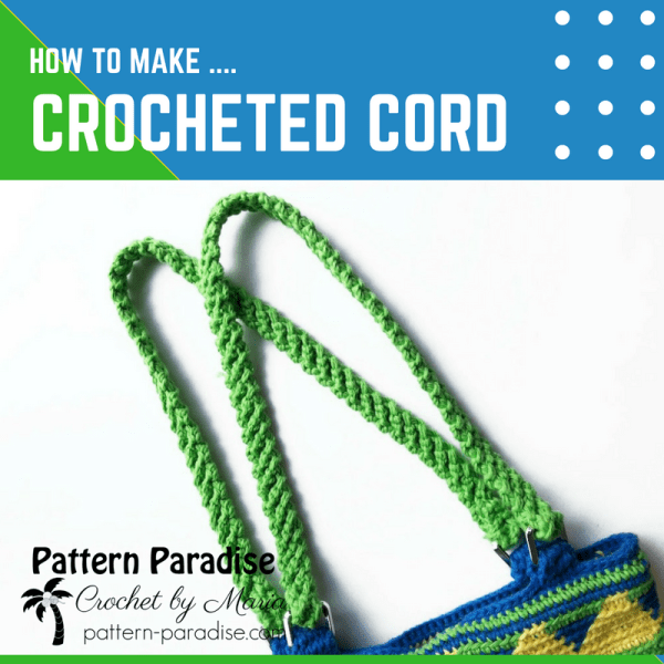 Tutorial: Crocheted Cord