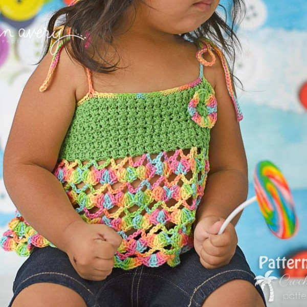 Free Crochet Pattern: All Tied Up Top