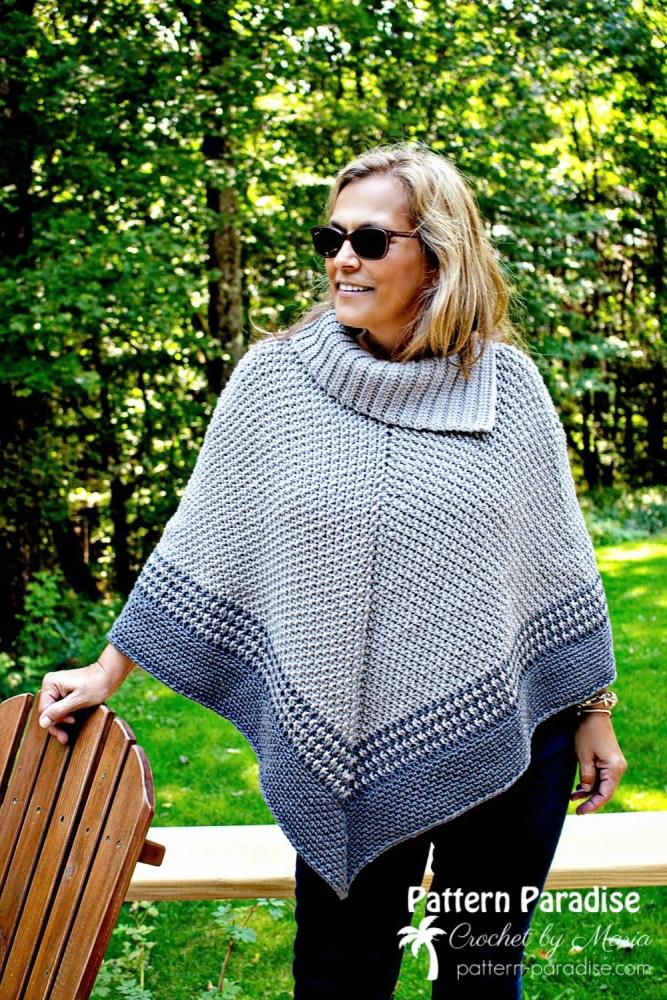 Free Crochet Pattern: Fatima Poncho