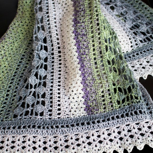 Free Crochet Pattern: Winter Indulgence Wrap