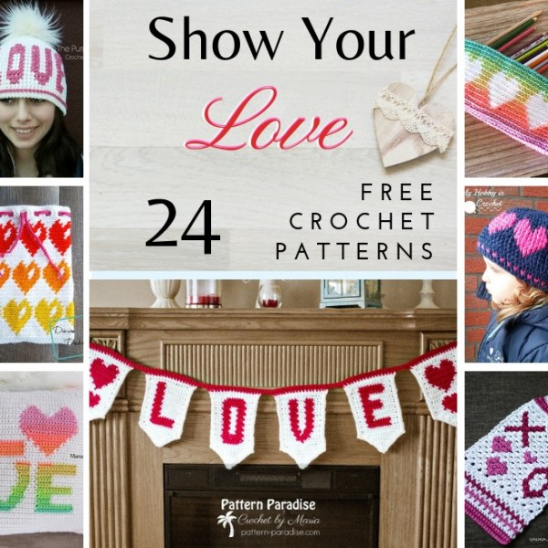Crochet Finds – Show Your Love!