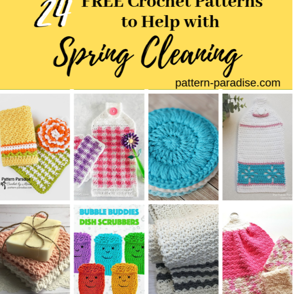 Crochet Finds – It's Time For Spring Cleaning!