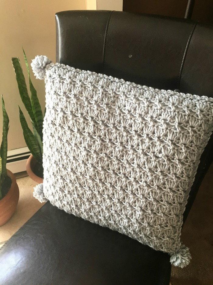 Nana's Textured Pillow