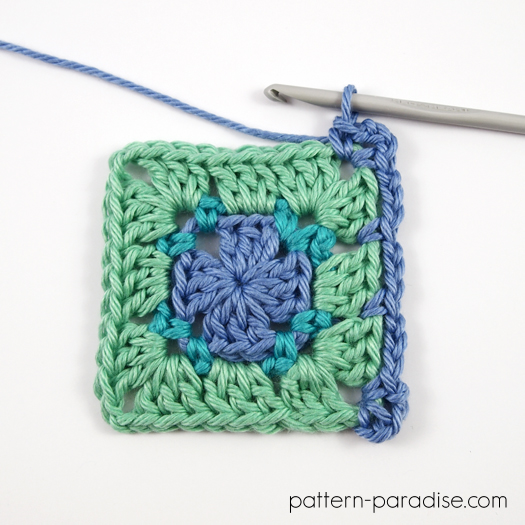 block stitch square