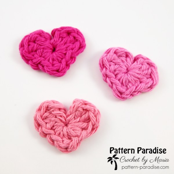 Free Crochet Pattern: Itty Bitty Hearts