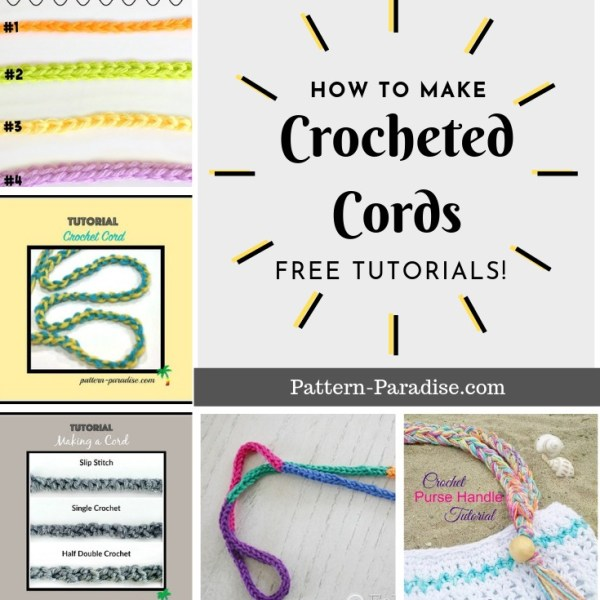 Crochet Finds: Crochet Cords, Strings and Such!