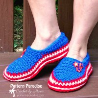 Stars and Stripes Slippers