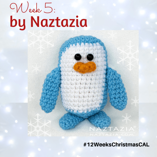 2019 Christmas Blog Hop – Baby Penguin