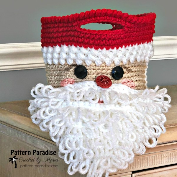 2019 Christmas Blog Hop – Santa Basket or Bag