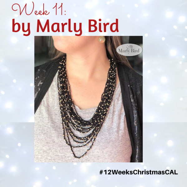2019 Christmas Blog Hop – Spectacular Beaded Necklace