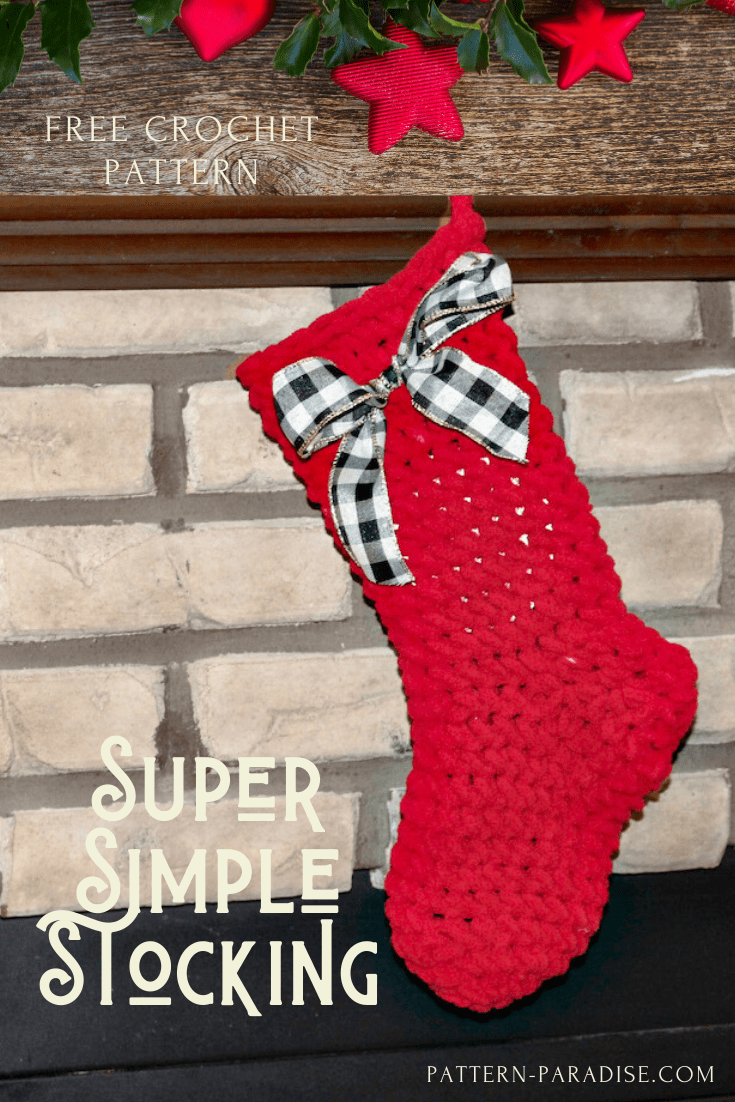 super simple stocking