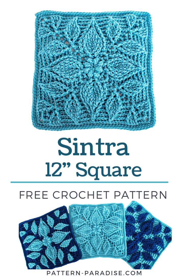 Sintra crochet square
