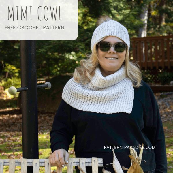 Free Crochet Pattern: Mimi Cowl