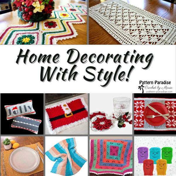Crochet Finds – Decorate Your Home For The Seasons!