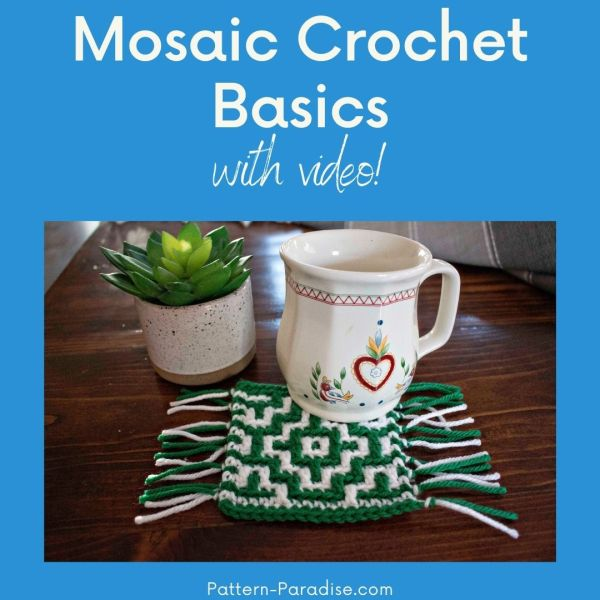 Video Tutorial: Mosaic Crochet Basics