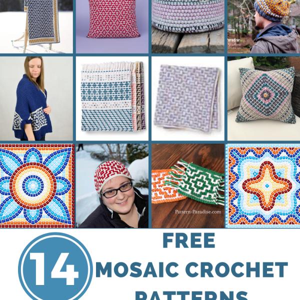 Crochet Finds – Mosaic Crochet!