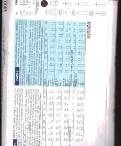 Butterick 3899 Y 1