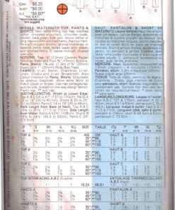 Butterick 4865 Y 1