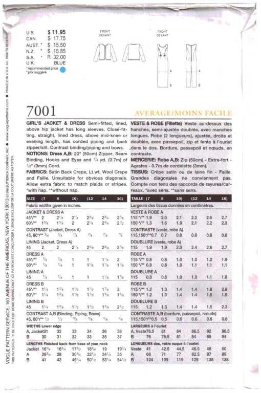 Vogue 7001 1