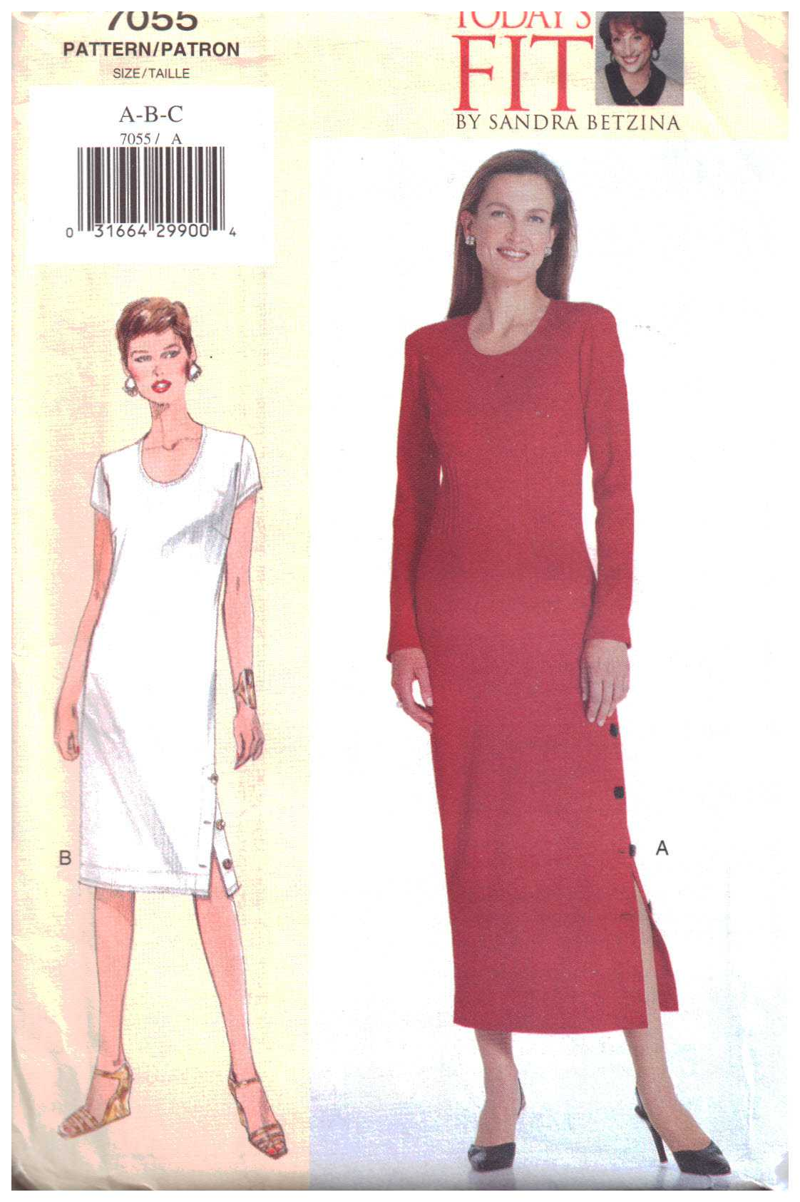 300c0fbece4c Vogue 7055 Misses    Misses  Petite Dress Size  A-B-C or D-E-F Uncut Sewing  Pattern