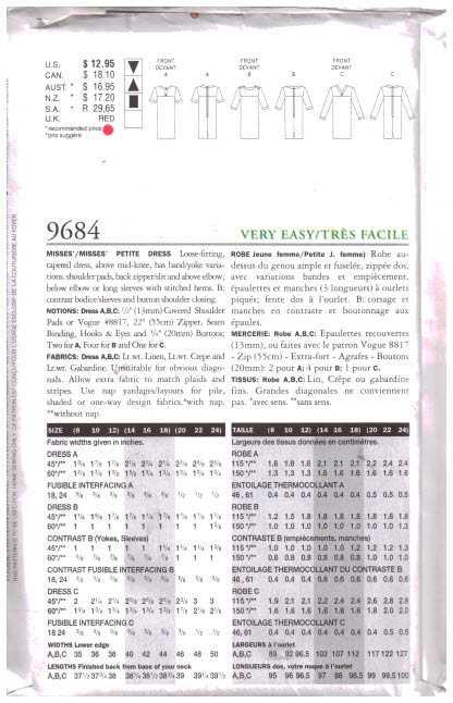 Vogue 9684 1