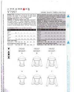 Vogue V7997 1