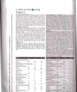 Vogue V8011 1