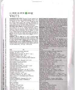 Vogue V8273 1