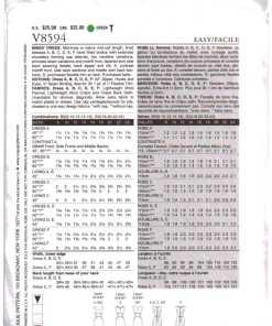Vogue V8594 1